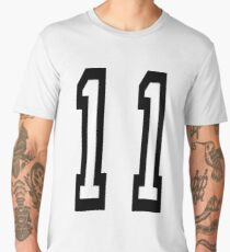 11, TEAM SPORTS, NUMBER 11, Eleven, Eleventh, Competition Men's Premium T-Shirt