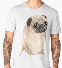 Sweet Fawn Pug Men's Premium T-Shirt