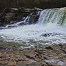Waterfalls on the River Swale by Ian Alex Blease