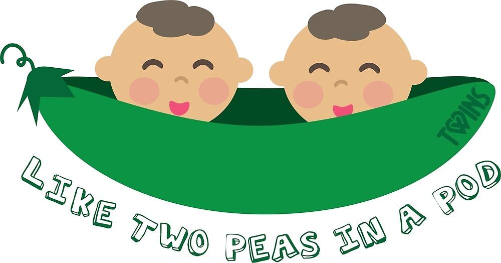 Peas in a Pod (boy/boy twins) by TWINS™ Magazine