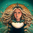 Queen Bee by Sarah  Mac Illustration