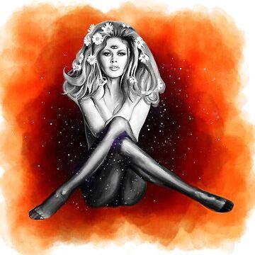 Brigitte Bardot ( I'm a woman ) by artbysavi