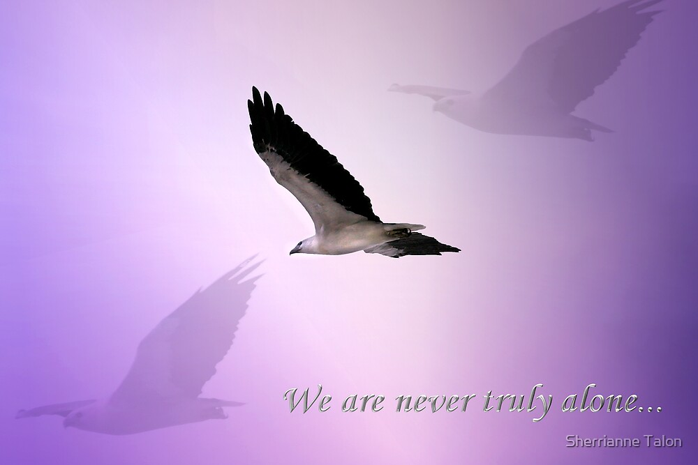 Never Truly Alone - Card by Sherrianne Talon