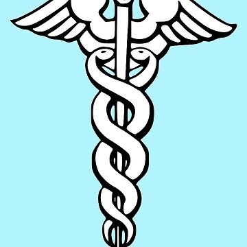 Caduceus - Medical Symbol by Symbolical