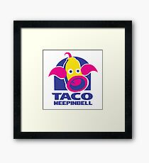 Taco Weepinbell Framed Print