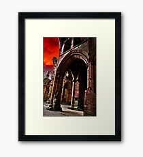 Gothic 1 Framed Print