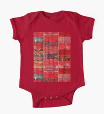 Red Patches Kids Clothes