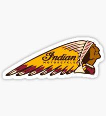 Indian Motorcycles Vintage Logo Sticker