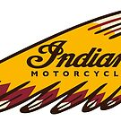 Indian Motorcycles Vintage Logo by Traut