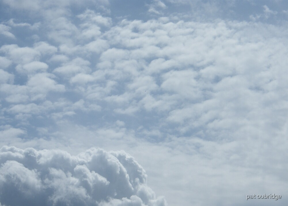 Cotton Wool Clouds by pat oubridge