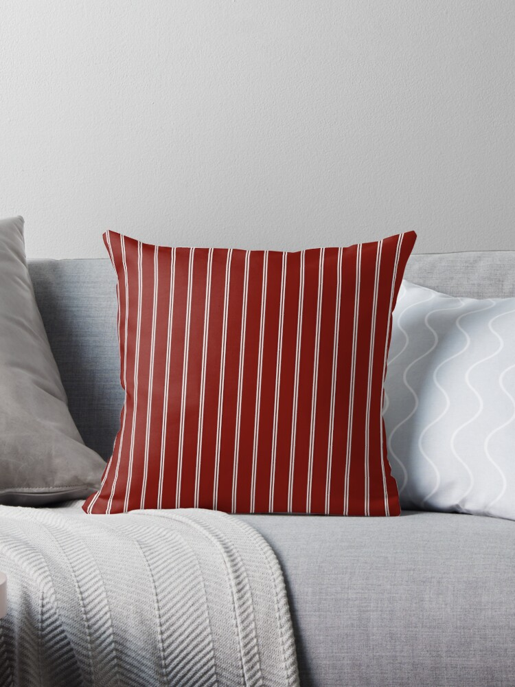Barn Red Large Double Pin Stripe by oldshaker
