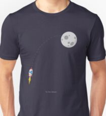 Ripple XRP Rocket Spaceship CryptoCurrency  Unisex T-Shirt