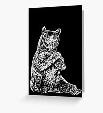 Cool Bear Greeting Card