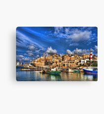 Lienzo El viejo puerto, Jaffa