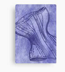 Purple Corset Canvas Print