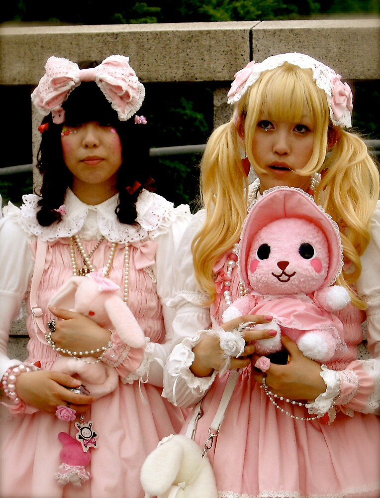 harajuku girls by geikomaiko