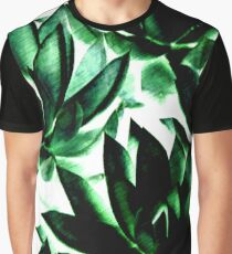 Echeverias in Green  Graphic T-Shirt