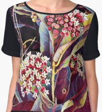 Wild flowers Women's Chiffon Top