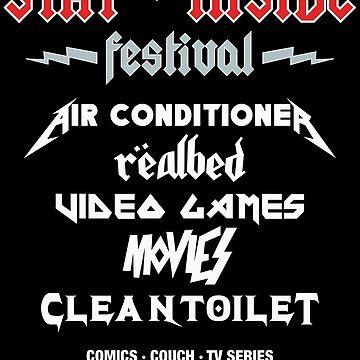 Stay Inside Festival by giuliomaffei90