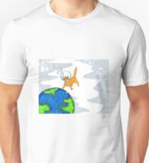 Astro cat lost in space  T-Shirt