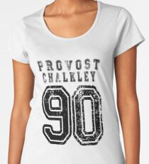 Dom Provost-Chalkley | 90 | College Style Women's Premium T-Shirt