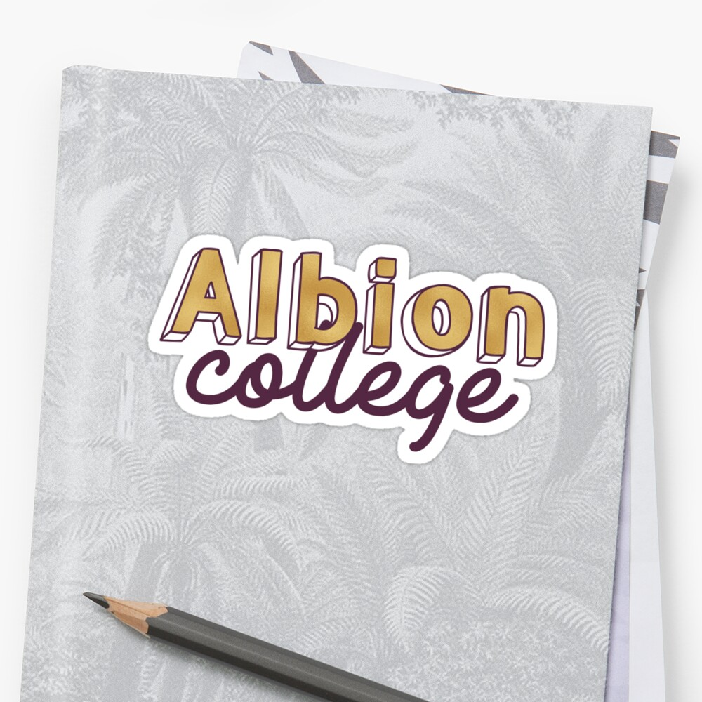 Albion College- Gold by its-anna