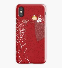 Whimsical Magical Snowflakes Fairy II iPhone Case/Skin