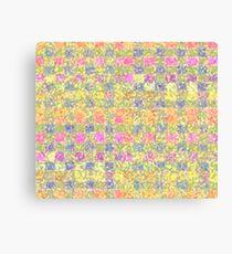 Pastel Boxes Canvas Print