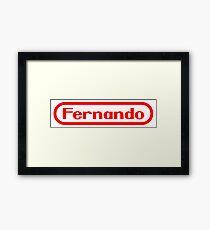 Fernando (Nintendo) Framed Print