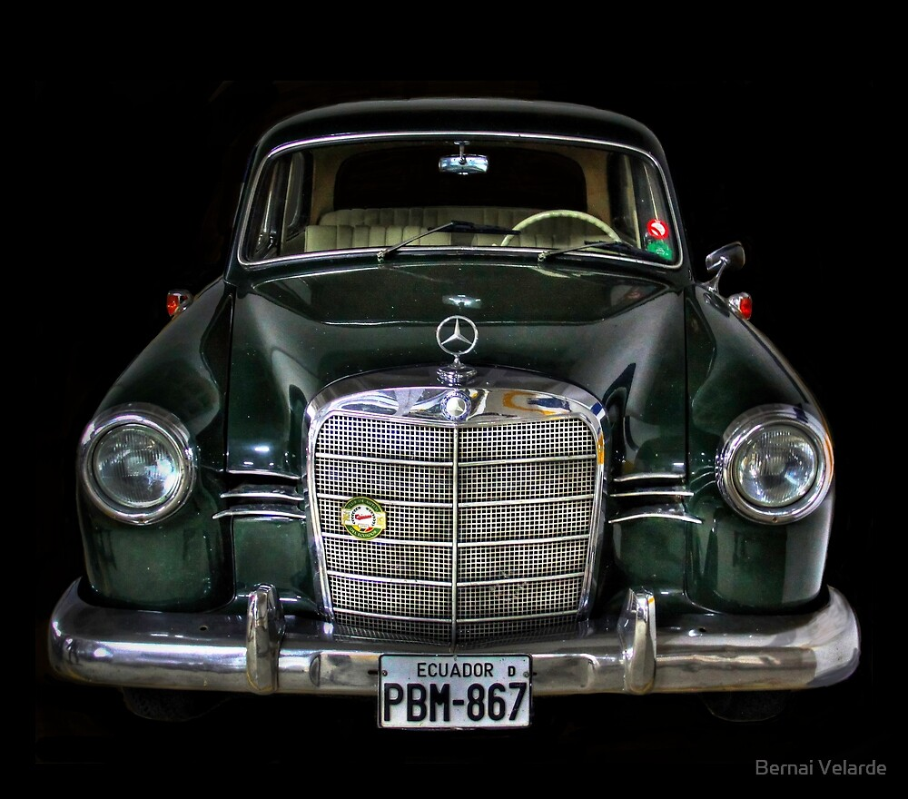 Mercedes Benz by Bernai Velarde PCE 3309