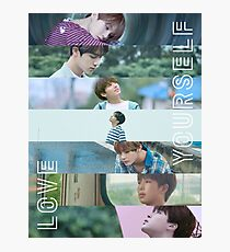 BTS LOVE YOURSELF Photographic Print