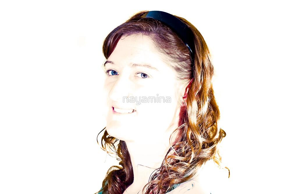 Tracy Portrait bright by nayamina