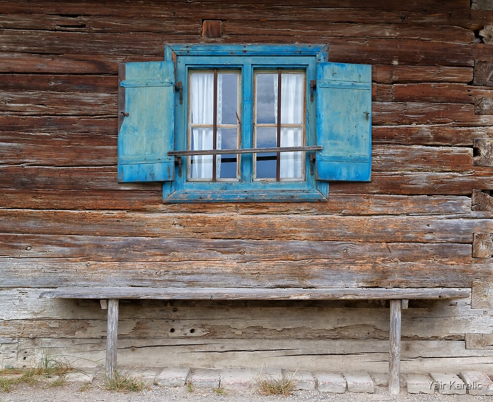 Window and Bench by Yair Karelic