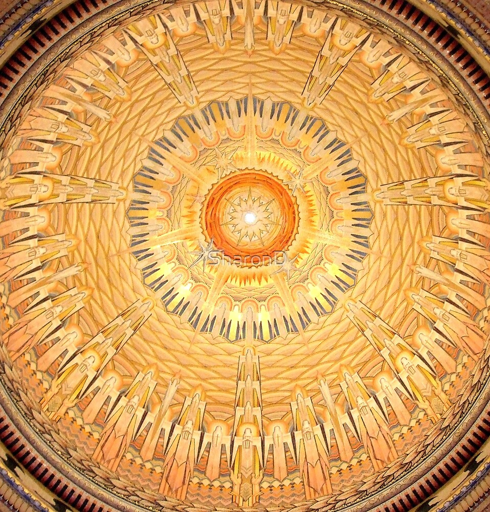 Ceiling-War memorial Canberra by SharonD