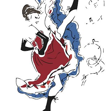 French cancan by MotherSky