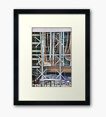 Shapes And Patterns Framed Print