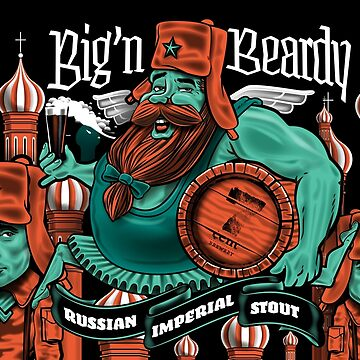 'Big n' Beardy' Russian Imperial Stout  by 7centBrewery