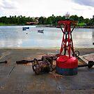 Red Buoy by photorolandi