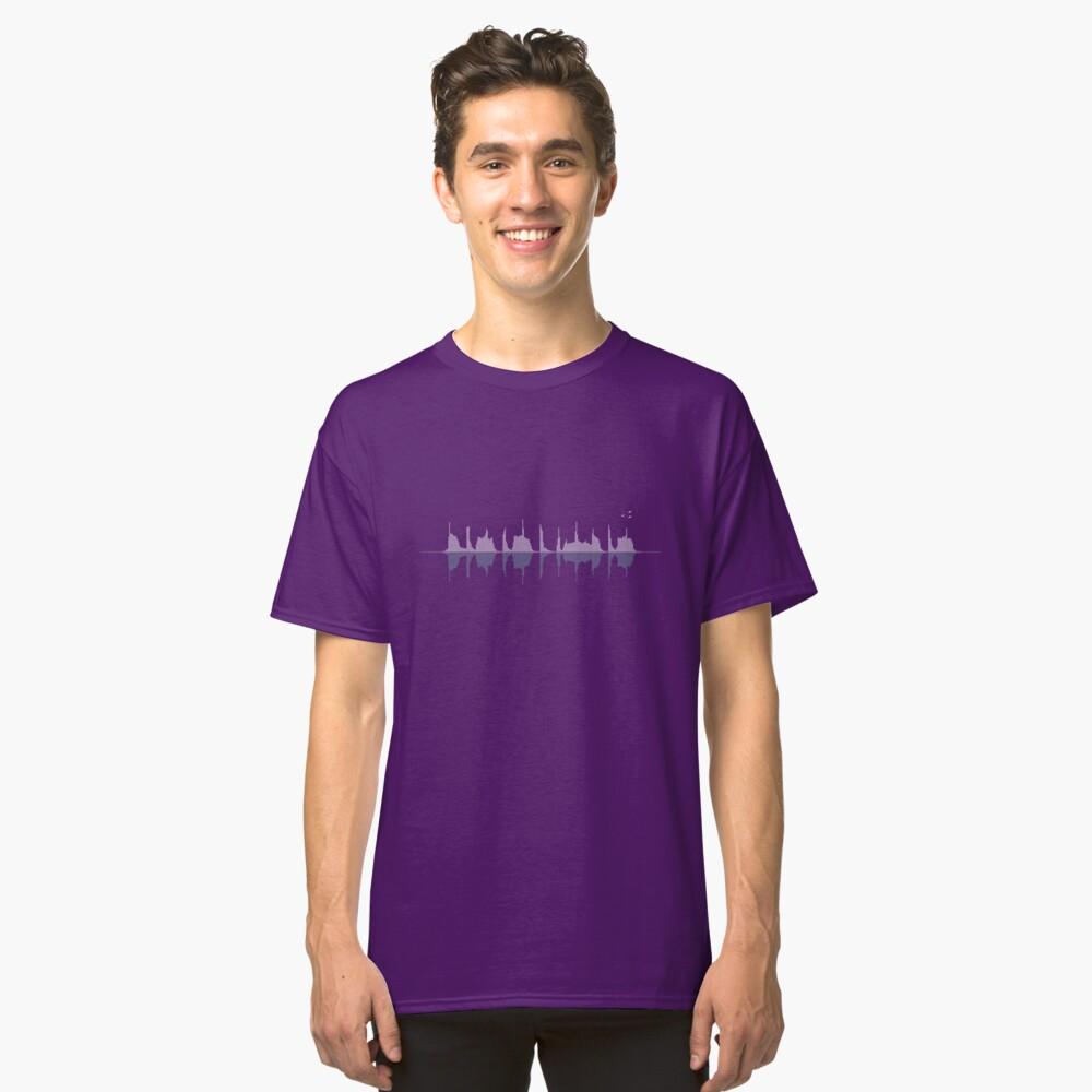 Waveform City Classic T-Shirt Front
