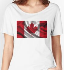 Flag of Canada Women's Relaxed Fit T-Shirt