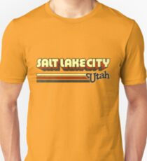 Salt Lake City, UT | City Stripes T-Shirt