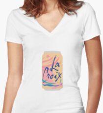 Pamplemousse La Croix Women's Fitted V-Neck T-Shirt