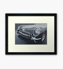 Chevrolet Corvette 1954 Framed Print
