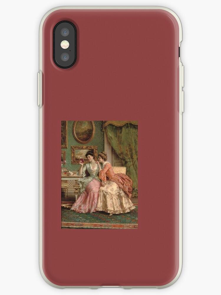 Vintage Painting Phone Case by Chaeist