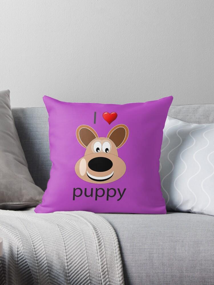 I Love Puppy Dog by teegear