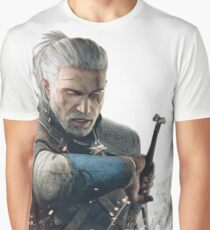 HQ The Witcher (vector) Graphic T-Shirt