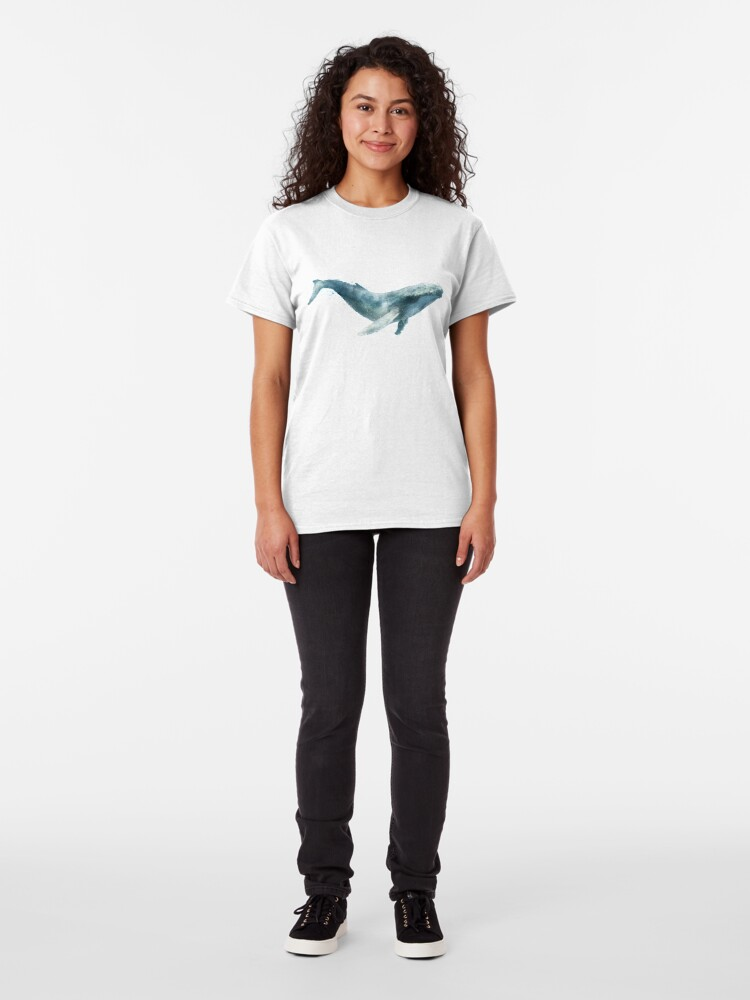 Alternate view of Humpback Whale Classic T-Shirt