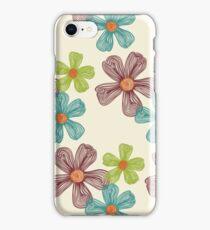 Flower Doodles iPhone Case/Skin