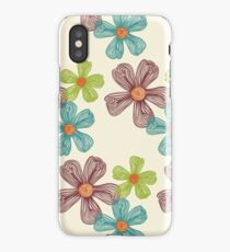 Flower Doodles iPhone Case/Skin