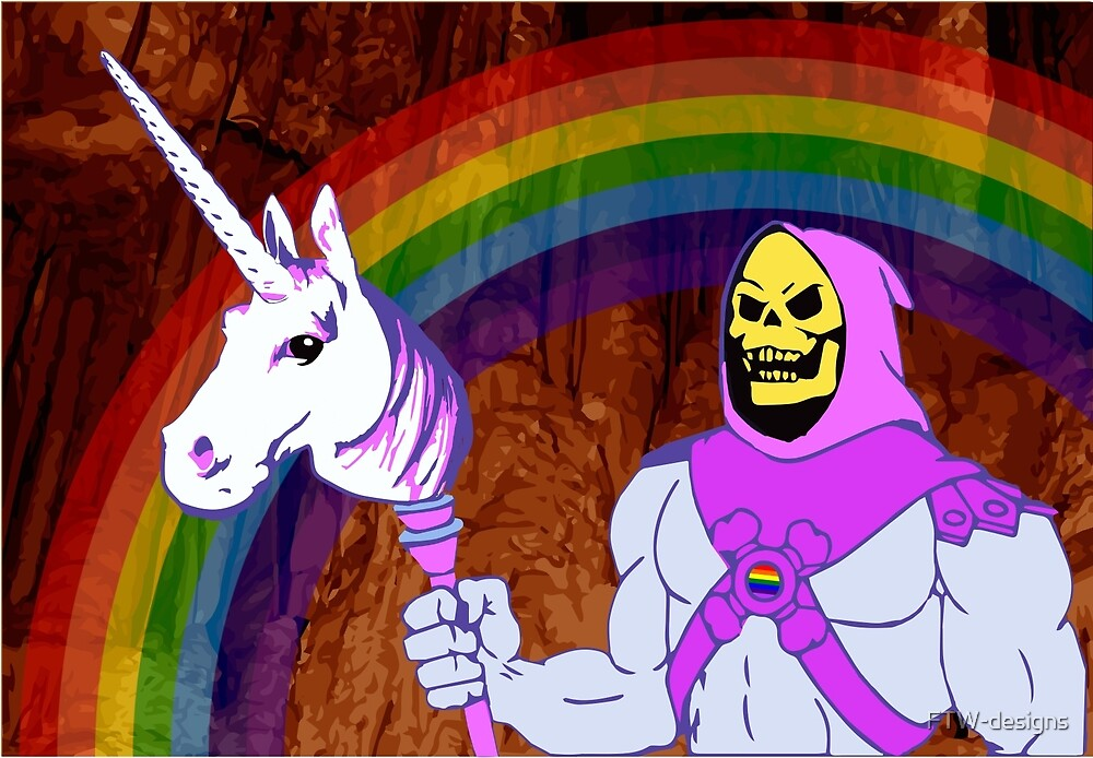 Skeletor Pride by FTW-designs